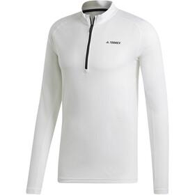 adidas TERREX Trace Rocker 1/2 Zip LS Shirt Men white